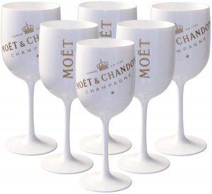 6 grands verres Ice Impérial Edition de Moët et Chandon