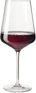 6 verres à Bordeaux Puccini de Leonardo