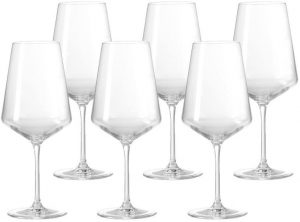 6 verres à vin blanc Puccini de Leonardo