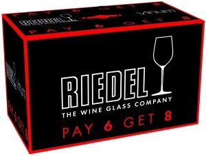 8 verres à Bordeaux Vinum de Riedel