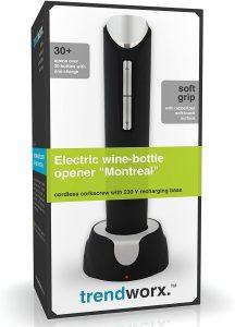L'ouvre-bouteille électrique Montréal de Trendworx