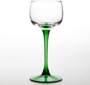 6 verres à vin d'Alsace Vin du Rhin de Böckling