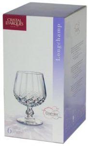 verre à liqueur Longchamp de Cristal d'Arques